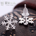 Security East End Wolf 925 Pure Silver Snow Ear Nail Korea High Archives Fashion Earrings Earring Silver Jewelry