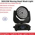 LED 36X15W RGBWA 5в1 Wash/Zoom огни DMX512 движущиеся фары Профессиональный Dj Бар для вечеринки шоу сцены 2019 Бесплатная доставка