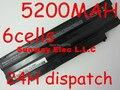 6 Cells Laptop Battery For DELL Inspiron 13R 14R 15R 17R M411R M501 M5010 N3010 N3110 N4010 N4110 N5010 N5030 N5110 N7010 N7110