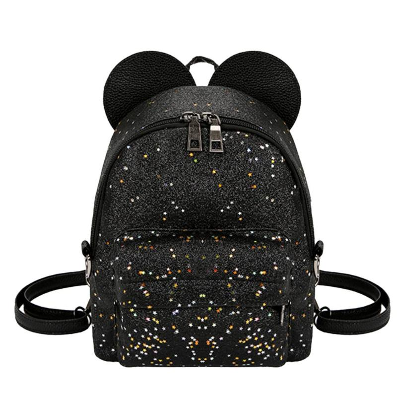 Shining Sequins Women Cute Small Backpacks PU Leather School Bags Girls Princess Shoulder Bag 2018 New Fashion Female BackpackShining Sequins Women Cute Small Backpacks PU Leather School Bags Girls Princess Shoulder Bag 2018 New Fashion Female Backpack