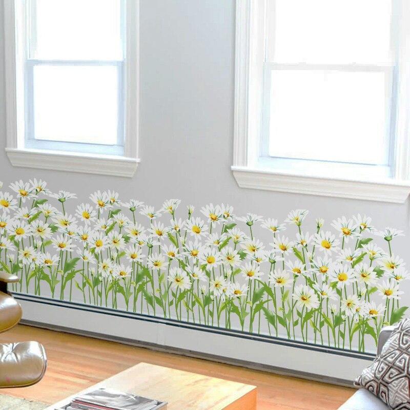 Mural Flores Hierba