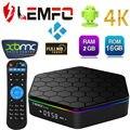 Sunvell S912 T95Z Além Disso Android Caixa Smart TV 2G Amlogic Octa Núcleo 4 K x 2 K H.265 Decodificação 2.4G + 5G Dual Band WiFi Mídia jogador