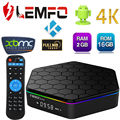 Sunvell T95Z Plus Android Smart TV Caja 2G Amlogic S912 Octa Core 4 K x 2 K H.265 Decodificación 2.4G + 5G de Doble Banda WiFi Media jugador