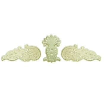 H50 * L260cm (19,69 * 102.36in) GRC ABS Ala De Ángel Y Crisantemo Pétalo Prefabricado Decoración Del Hogar/Villa Pared Aplique Molde