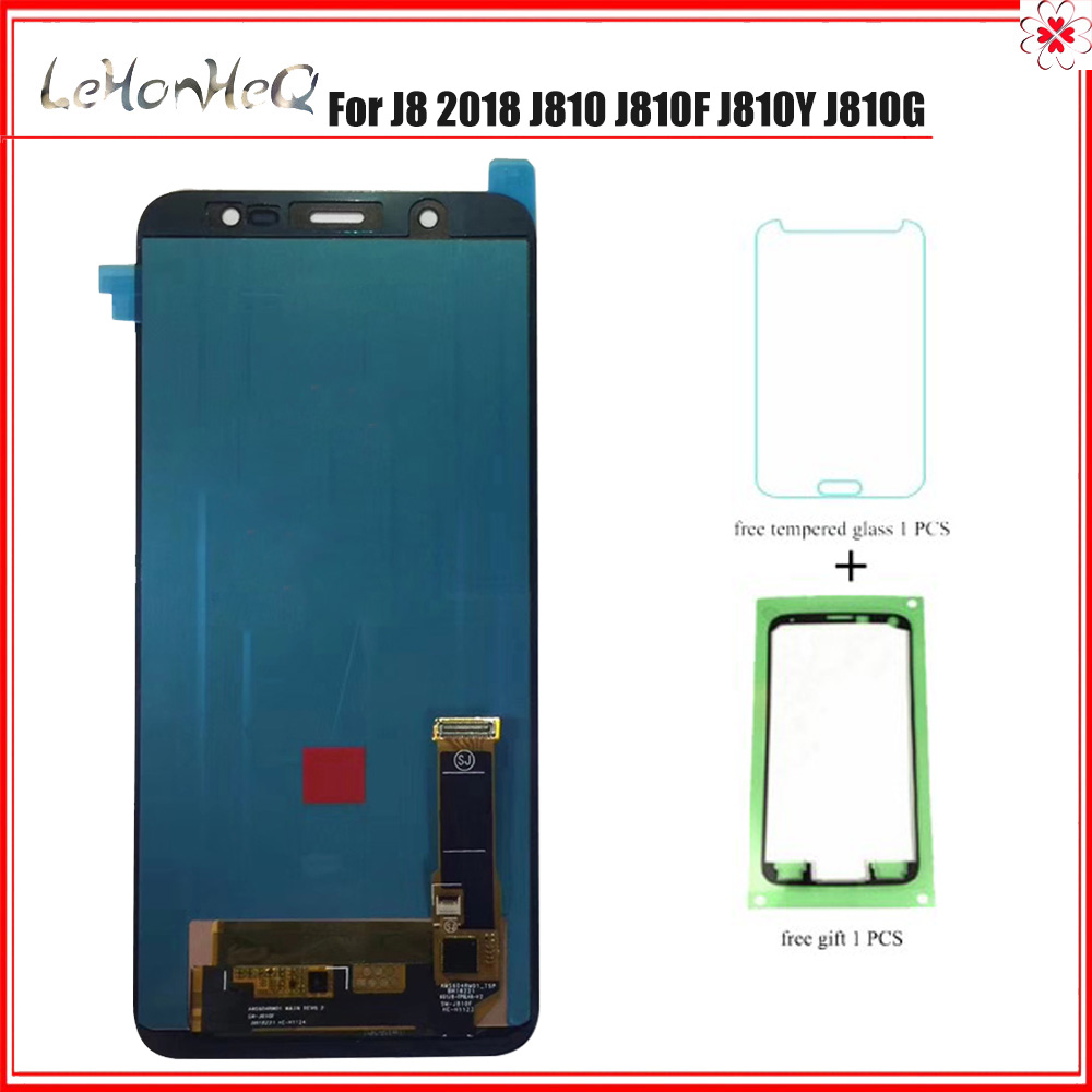 Super AMOLED For Samsung Galaxy J8 2018 J810 J810F J810Y J810G LCD Display Touch Screen Digitizer Assembly For samsung J810Super AMOLED For Samsung Galaxy J8 2018 J810 J810F J810Y J810G LCD Display Touch Screen Digitizer Assembly For samsung J810