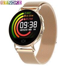 Smart Watch Women Relogio Inteligente Luxury Stainless Steel Smartwatch Mens Digita Sport Men Ladies Fitness