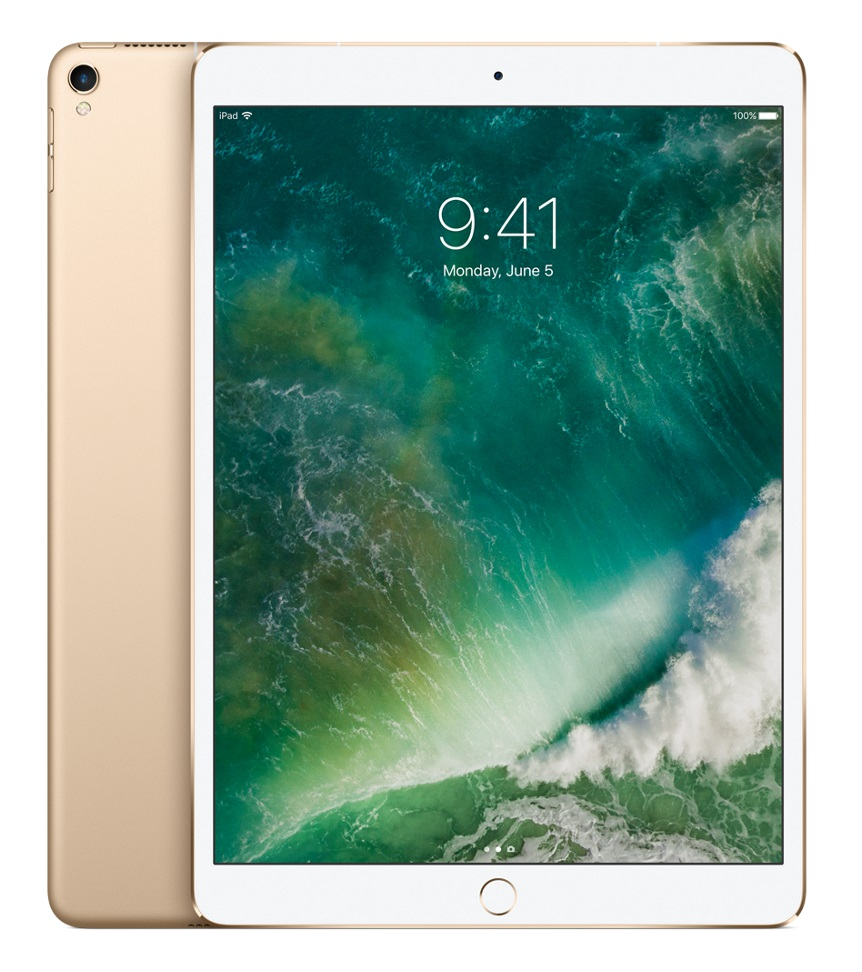 Apple for iPad iPad Pro 26.7 cm (10.5 & quot;) 2224 x 1668 Pixels 256 GB iOS 10 469 g Gold