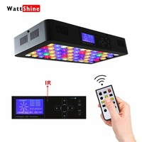Remote or Touch control 180W LED Aquarium Light Timer Control Dimmable lamp Freshwater and Saltwater Coral Reef Grow Fish Tank