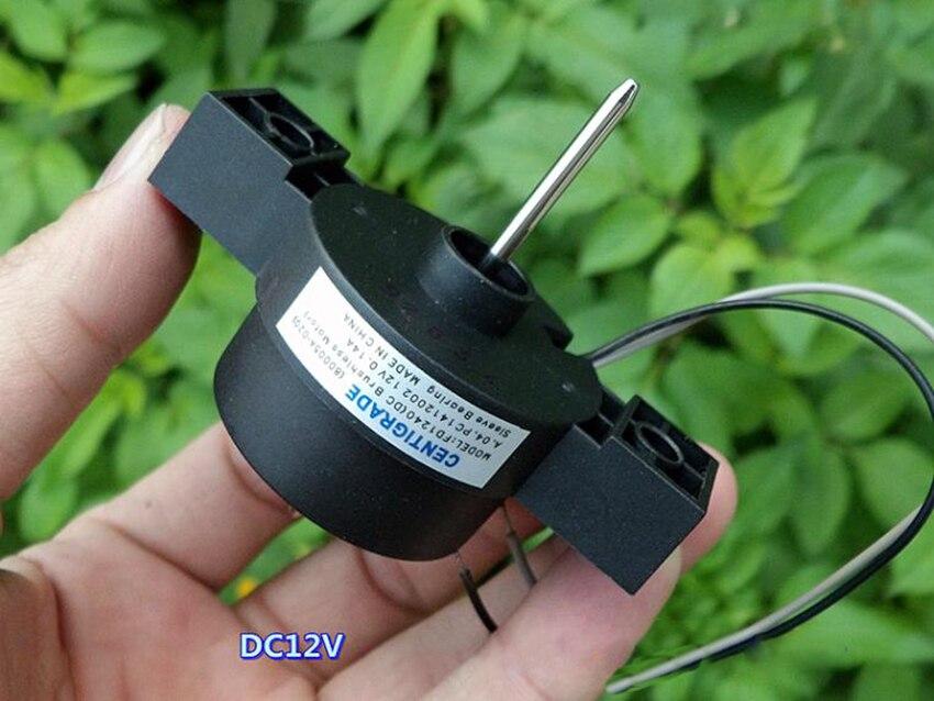 Бесщеточный двигатель постоянного тока DC12V 0.12A 4000 об/мин Бесшумная Встроенная плата привода Мини электрическая машина внешний роторный двигатель без щетки