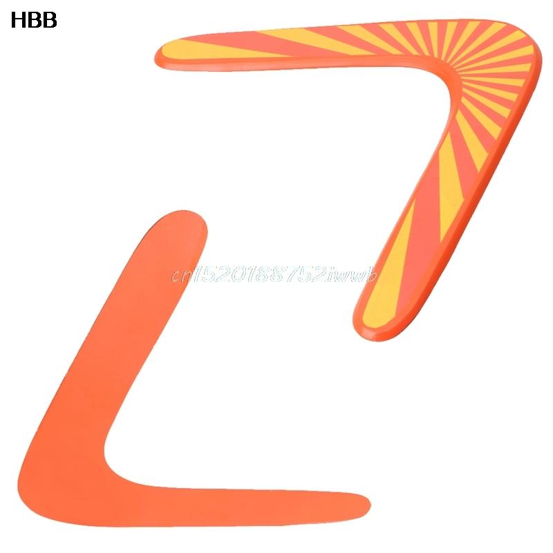 boomerang de madera clsico v forma frisbee flying saucer juguetes nio juguetes al aire libre
