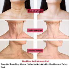 Против морщин силиконовые средства ухода за кожей Шеи Pad шеи ленты морщин колодки для шеи лечение морщин предотвращение, анти морщин удаления TSLM2
