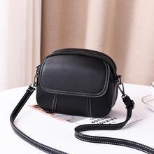 купить BARHEE Brand Women Mini Crossbody Bag Double Zipper Flap Woman Soft PU Leather Shoulder Bag Small Handbag Long Strap messenger по цене 1104.81 рублей