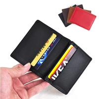 Head Layer Of Leather Leather Business Card Printing Business Card Bag Bank Card Business Man Woman
