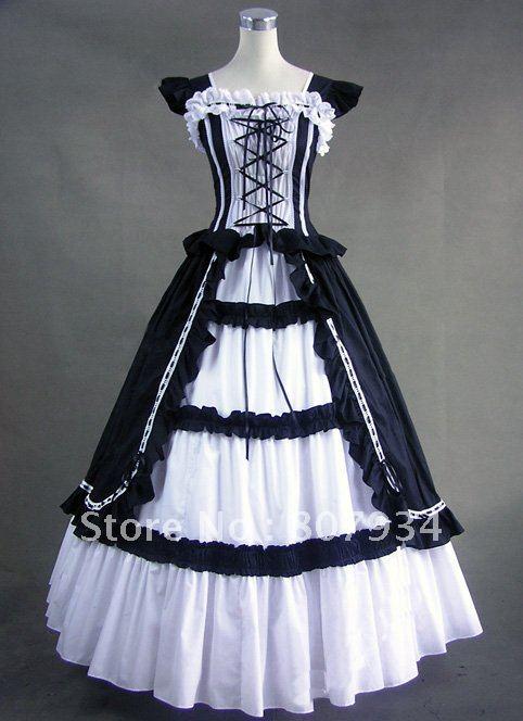 Free shipping! Custom Order! Civil War Dress,Corset Dress,Vintage ...