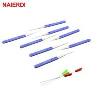 רהיטים כלי וציוד NAIERDI מסגר שבורה מפתח מחלץ הסרת הוקס הסט 12PC עם 10PC ידית כלי נעל פיק חומרת רהיטים (4)