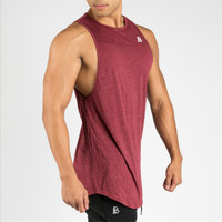 YEMEKE Gymnases Maillots Mens Débardeurs Chemise, Appareils de Musculation Fitness Hommes Or Gymnases Stringer Débardeur Vêtements Musculaires