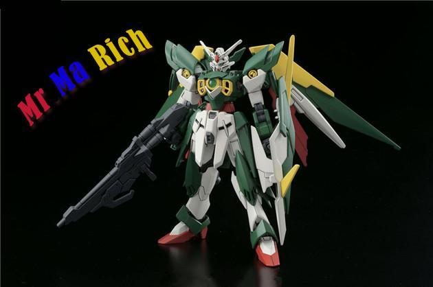 Anime Figure Hg 1:144 Gundam Wing Gundam Assembled Toy Pvc Action Figures Toy Model Collectibles Robot 3