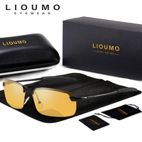 Унисекс для водителей, ночного видения очки антибликовые солнцезащитные hd-очки Для женщин Для мужчин очки ночного видения для вождения очк...