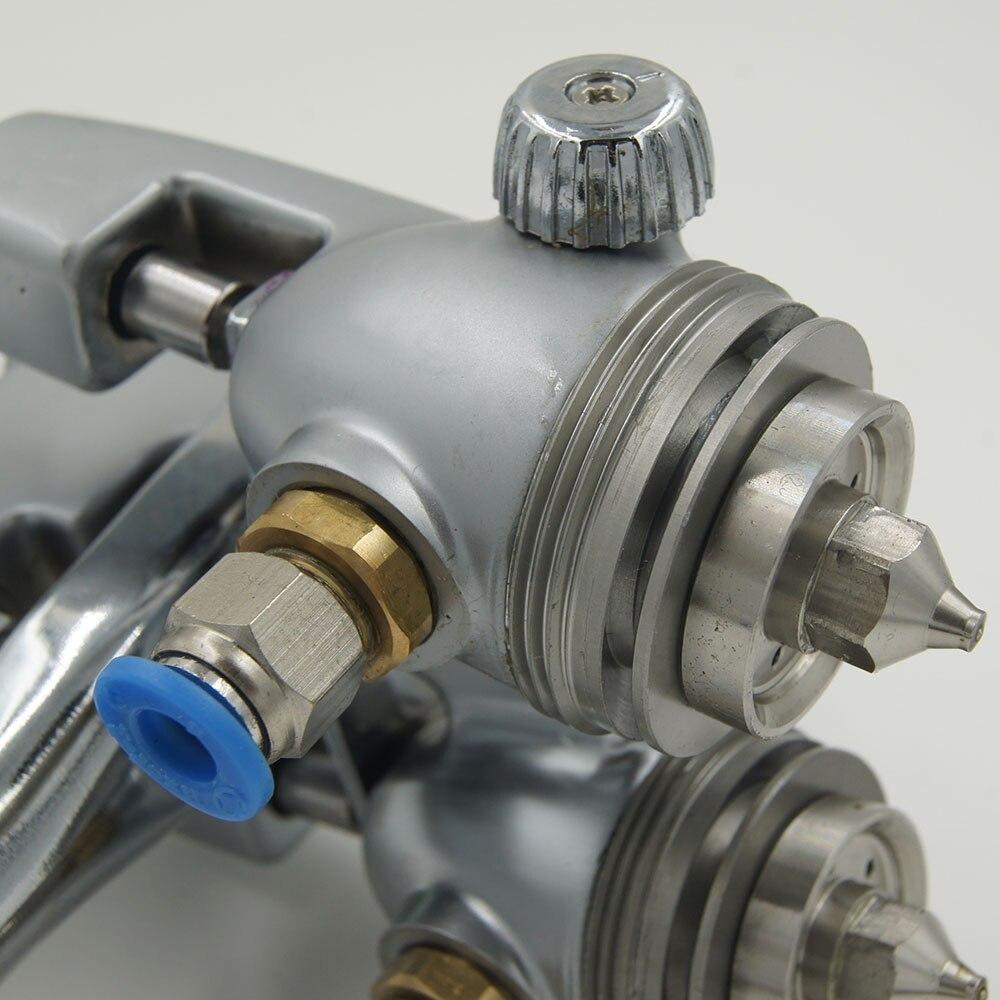 Serbatoio a pressione SAT1200 Pistole a spruzzo 2 * 1000ml per - Utensili elettrici - Fotografia 3