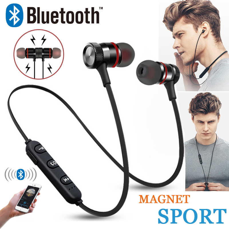 Gz05 Bluetooth Headset Wireless Headset Stereo Headphones Sports Magnetic Earphones With Microphone For All Mobile Phones Aliexpress
