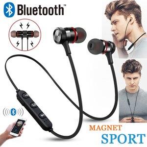 Image 1 - GZ05 casque Bluetooth casque sans fil casque stéréo sport écouteurs magnétiques avec Microphone pour tous les téléphones mobiles