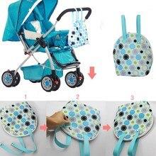 Бесплатная доставка Детская коляска мешок Хранения животное теплые пеленки мешок Мумия мешок сумку бутылочку для кормления