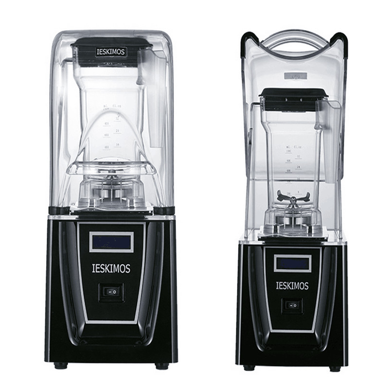 220V Automatic Electric Juicer Ice Crusher Maker Professional Smoothie  Ice Milkshake Maker For Coffee Shop Milktea Shop : 91lifestyle