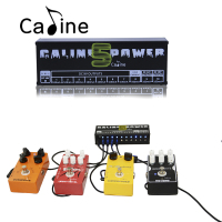 New Arrival Guitar Effect Pedals Power Supply Ten Isolated Outputs 9V 12V 18V Voltage Protection Caline