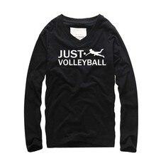 Creative עיצוב מטח כדור הדפסת אופנה גברים ארוך שרוול חולצה כותנה v-ncek Loose homme Swag סתיו ספורט אוהבים טי עירוני