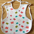 0-3years baby vest bibs cloth cotton waterproof clothing baby cartoon dot baby bibs christmas gift