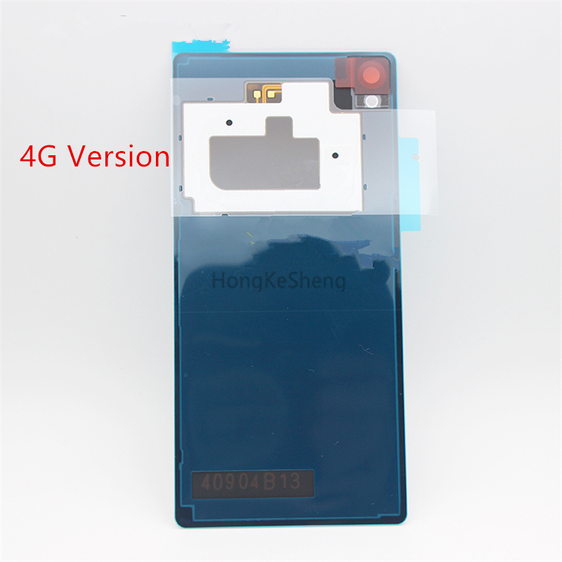 OME Glass Back Battery Cover Housing Case With NFC Sticker For Sony Xperia Z3 Dual D6633 (4G Version)  Back Cover Case