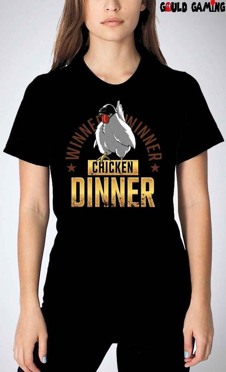 Победитель Куриный Ужин футболка унисекс для взрослых PUBG H1Z1 забавные размеров, новинка, футболка с принтом героев мультфильма, мужские, унисекс, новая мода
