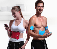 цена на Upgrade Interchangeable Rechargeable Electronic Muscle Stimulation Trainer Sculpt Electrotherapy Body Massager Fat Remove device