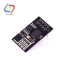 50pcs/lot ESP8266 ESP 01 ESP 01S Remote Serial Port WIFI Wireless Module 3.3V SPI For Arduino