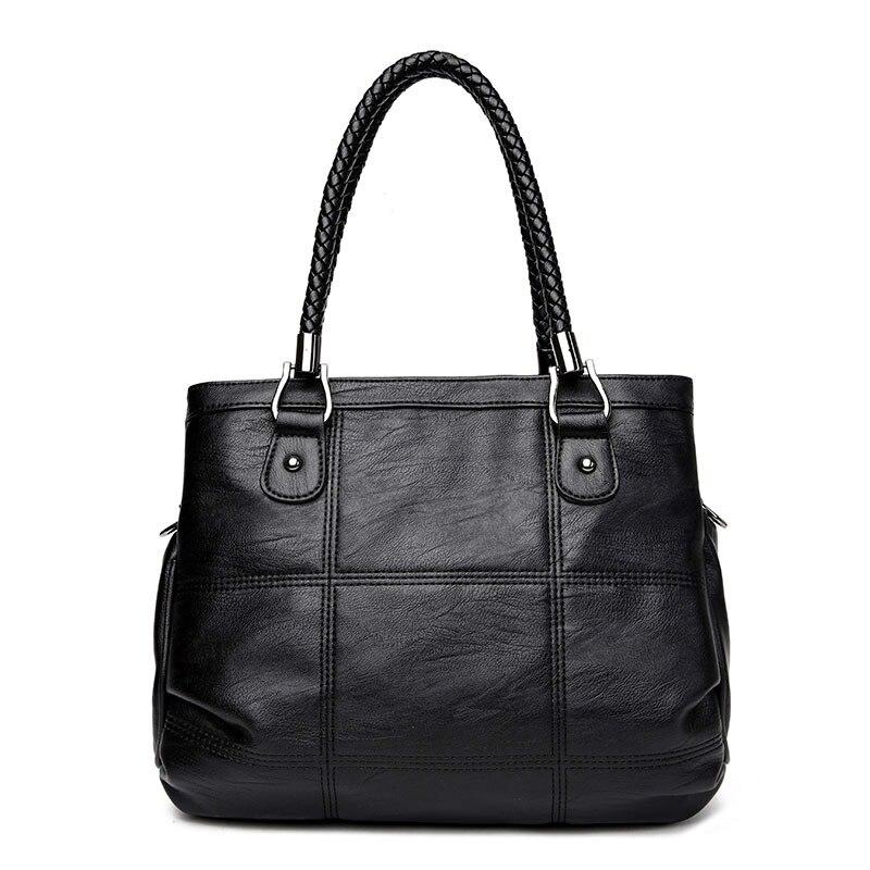 2018 New Fashion Ladies Hand Bag Womens Genuine Leather Handbag Leather Casual Tote Bag Bolsas Femininas Female Shoulder Bag