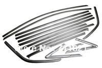 De coches de Estilo de Ventana Lateral del Cromo Guarnecido Completo Establecido Para Ford Escape/Kuga 2013 Hasta