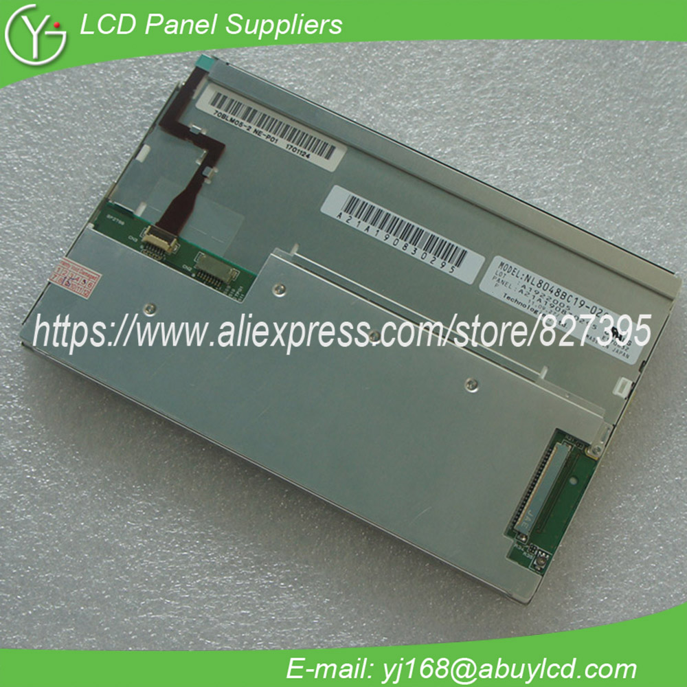 NL8048BC19-02C 7inch industrial lcd display panel NL8048BC19-02C 7inch industrial lcd display panel