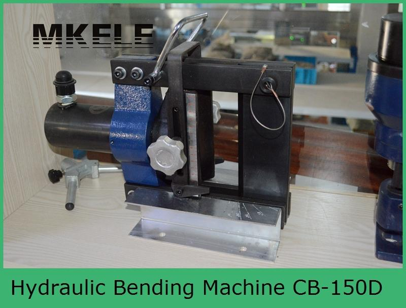MK-CB-150D electric hydraulic brass bender, portable hydraulic brass busbar bender mk cwc 150v hydraulic busbar cutter hydraulic copper busbar cutting machine with 150 10mm copper and aluminum busbar