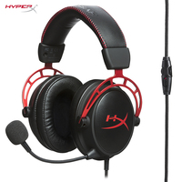 KINTSTON HYPERX Cloud Alpha Gaming Headset Durability Multi Platform Compatibility Headphones Signature HYPERX Comfort