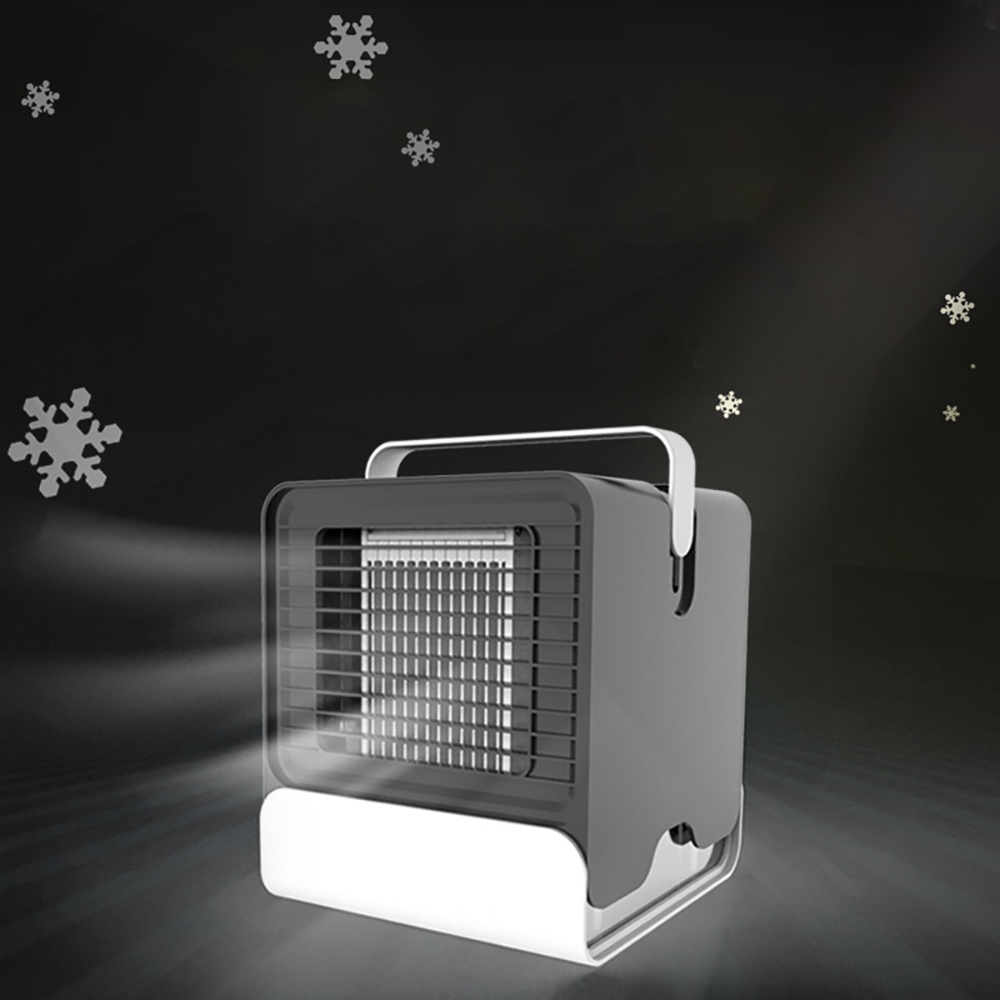 Portable USB Mini Negative Cool Fan Air Conditioner Personal Desktop Quick Easy Way To Cool Home Office Desk Air Conditioning