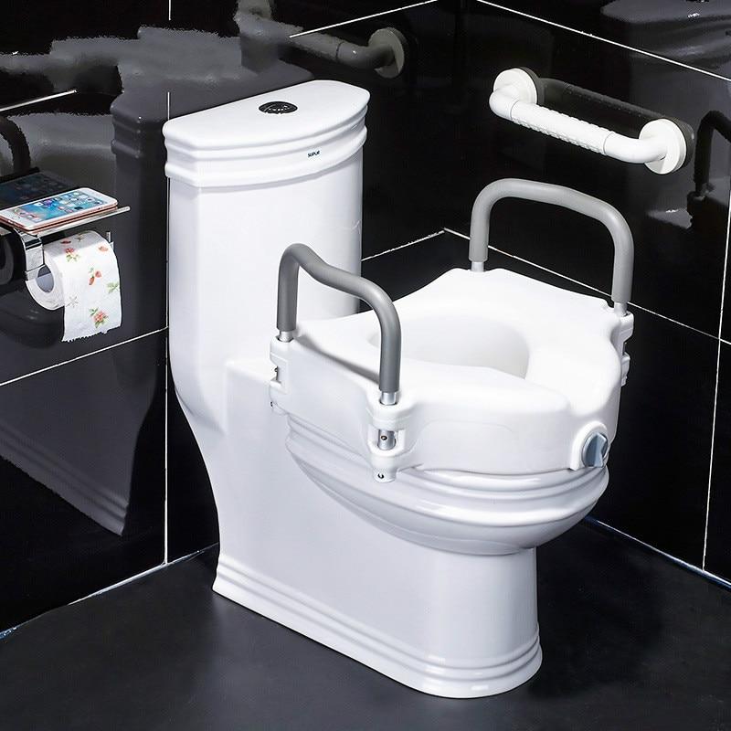 Ältere Wc Booster ältere Wc Handlauf Schwangere Frauen Wc Sitz Stuhl Hocker Erhöhung Washer Bad Werkzeuge Tropf-Trocken