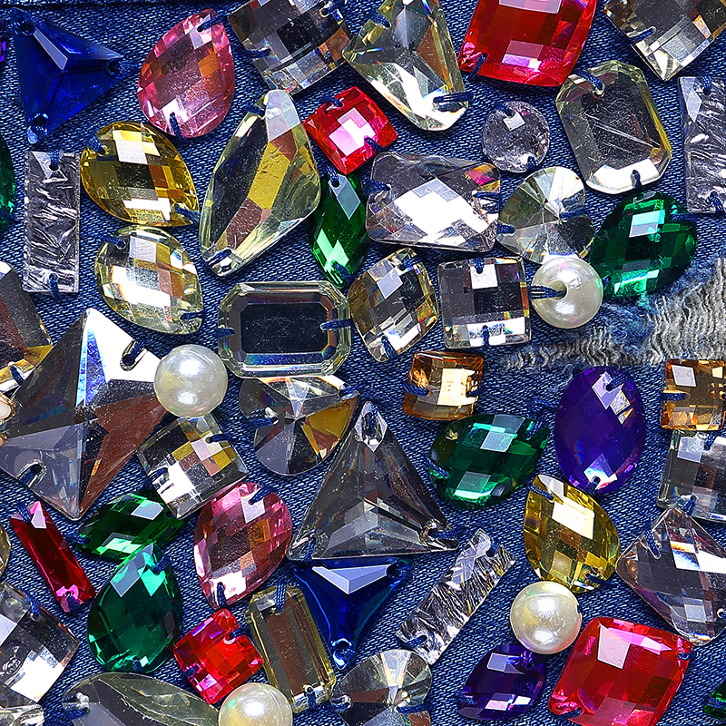 Diamant Strass Perles Bk14 Pantalon Marque Denim Vintage Mince Jeans Brodé Maigre Crayon Fusées Évider Trou Femmes CE5xq