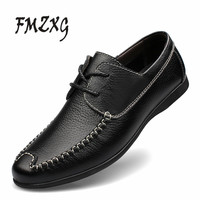 In The Autumn Of 2017 New Mens Casual Shoes Men S Shoes Doug Young Male Leather
