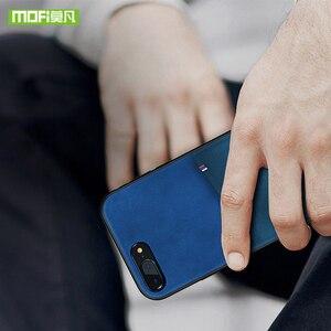Image 4 - MOFi dla iPhone 7 8 X etui na iPhone 7 8 Plus torba etui na karty etui dla iphonea X 10 skrzynki pokrywa PU skóra luksusowy portfel na karty tylna okładka