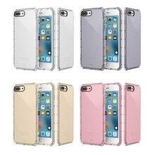5 pz/lotto Colorful Air Cusion Anti Bussare per il Caso di iPhone X XR XS Max 11 11 Pro 11 Pro Max 8 7 6 più il Caso di TPU Trasparente