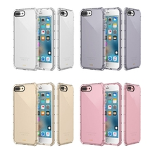 5pcs/lot Colorful Air Cusion Anti Knock Case for iPhone X XR XS Max 11 11 Pro 11 Pro Max 8 7 6 Plus Clear TPU Case
