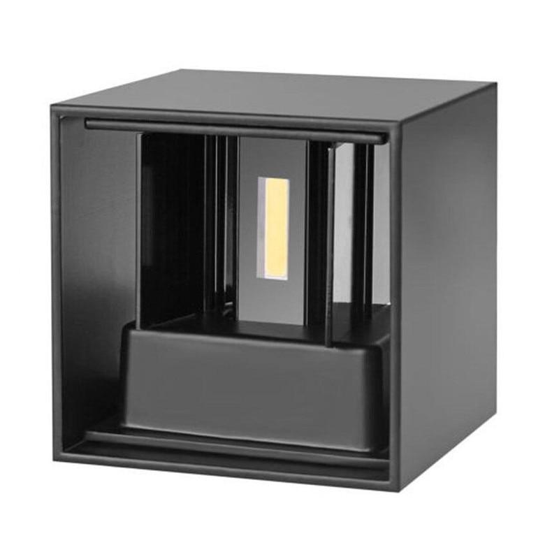 9 Watt 12 Watt Platz Led Wand Lampen Kurze Cube Einstellbare Oberfläche Montiert Wand Licht Dimmbare Ac110v 220 V Innen & Outdoor Beleuchtung Led Outdoor-wandlampe
