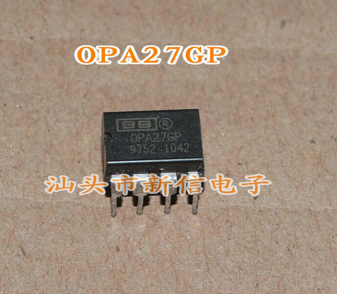 OPA27GP DIP-8 new original Audio amplifier chip into the can play--XXDZ2