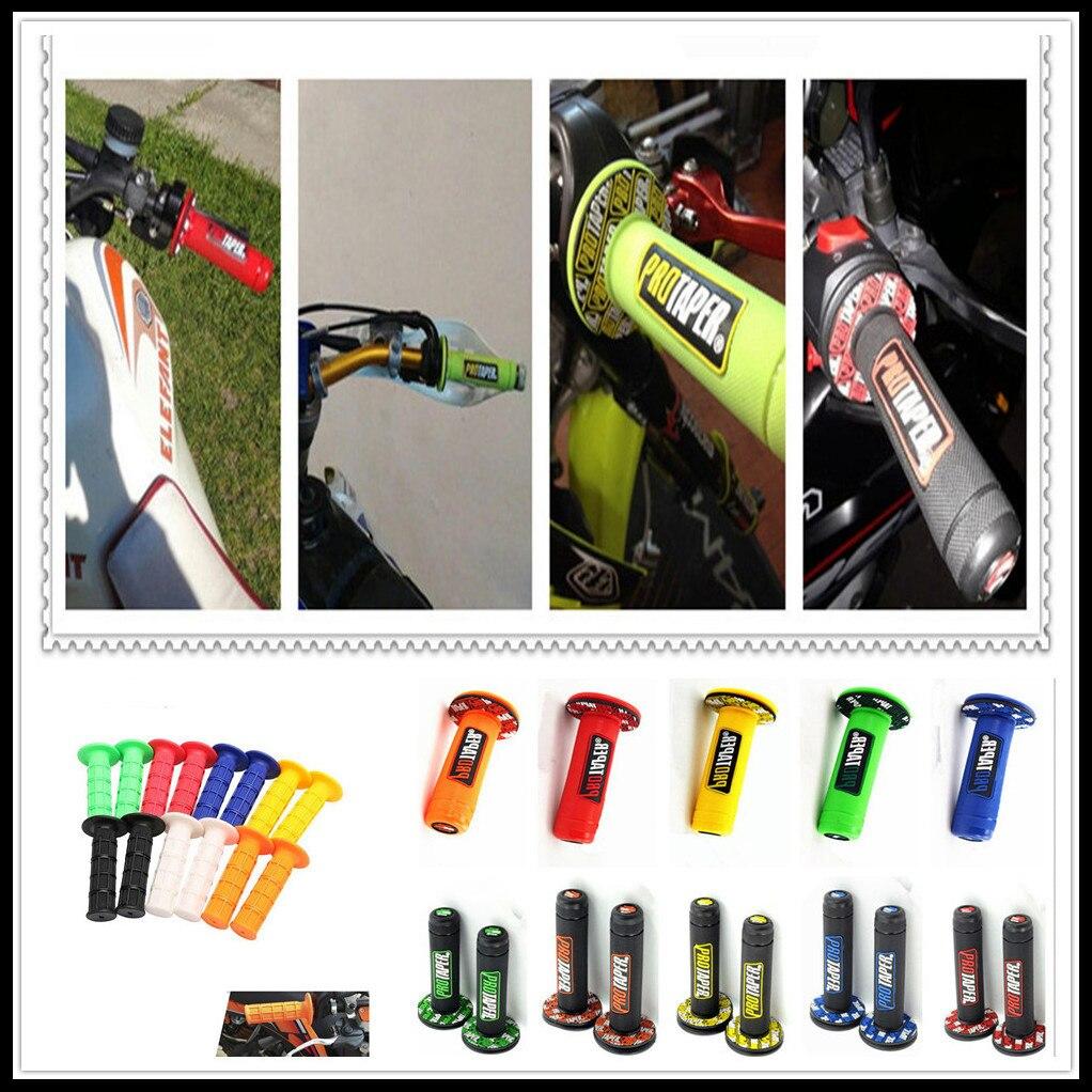 Handle Grip Motocross Motorcycle Dirt Pit Offroad Bike Rubber Gel Hand Grips FOR BMW F800ST HP2 Moto Guzzi 1200 SPORT