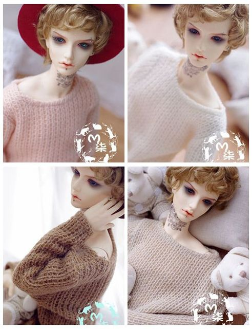 1/3 1/4  bjd sd   Doll Clothes Accessories sweater